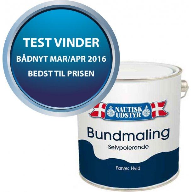 Bundmaling HVID Selvpolerende 2.5 ltr.