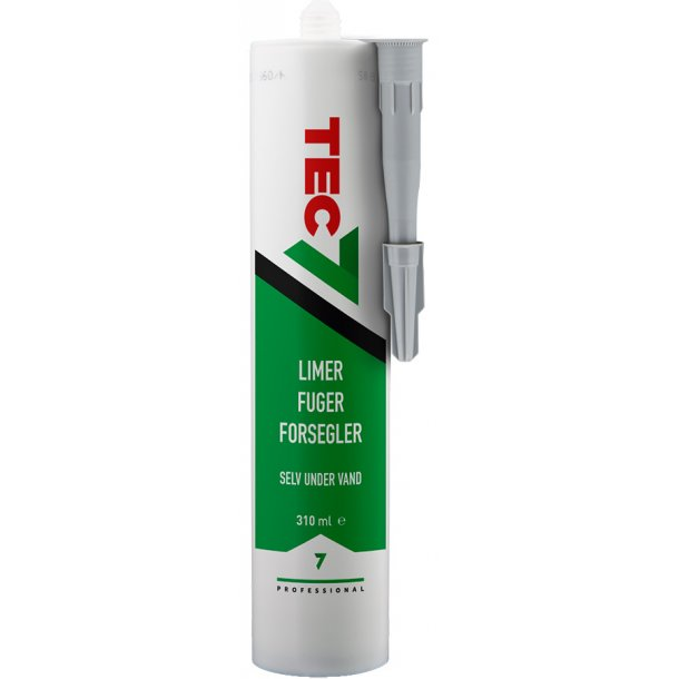 Tec7 lys grå 310 ml.