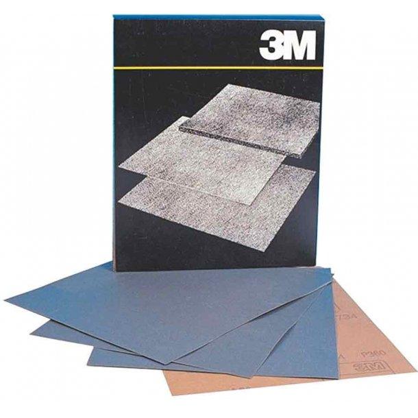 Vådslibepapir 230x280mm korn 180 pr/ark