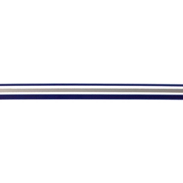 Vandlinie tape 12mm x 10m m.blå/sølv/m.b